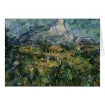 Mont Sainte-Victoire, 1904-05 Tarjeta De Felicitación