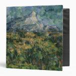 Mont Sainte-Victoire, 1904-05 Vinyl Binders