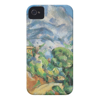 Mont Sainte Victoire Above Tholonet, Paul Cezanne iPhone 4 Cover