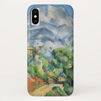 Mont Sainte Victoire Above Tholonet, Paul Cezanne iPhone X Case