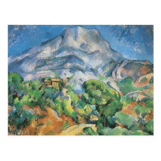 Mont Sainte Victoire Above Tholonet, Paul Cezanne Postcard