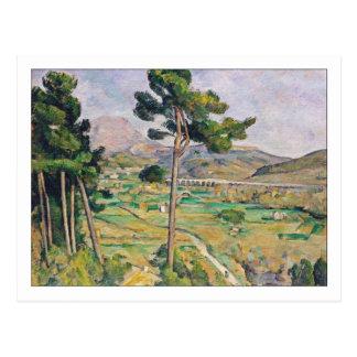 Mont Sainte-Victoire by Cezanne Postcard
