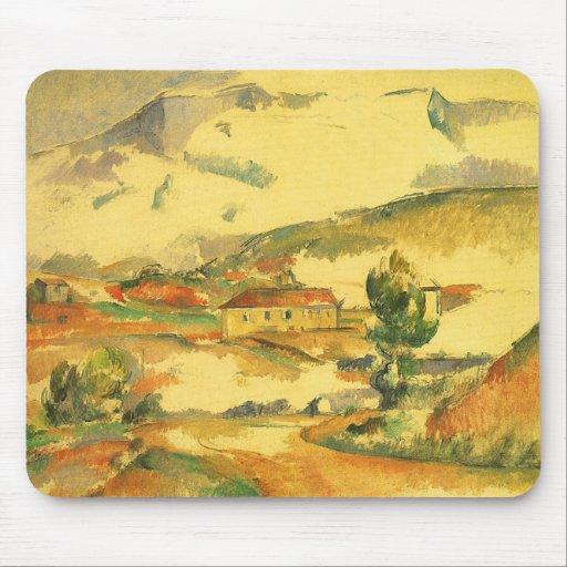 Mont Sainte Victoire by Cezanne, Vintage Fine Art Mousepads