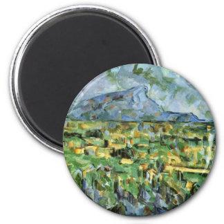 Mont Sainte-Victoire By Paul Cézanne (Best Quality Refrigerator Magnets