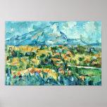 Mont Sainte-Victoire By Paul Cézanne (Best Quality Poster