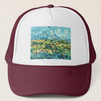 Mont Sainte-Victoire By Paul Cézanne (Best Quality Trucker Hat