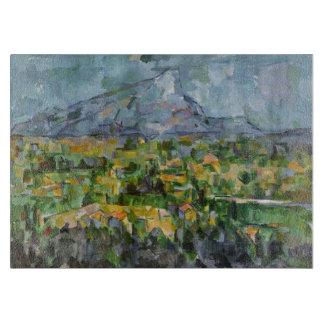 Mont Sainte-Victoire by Paul Cezanne Cutting Board