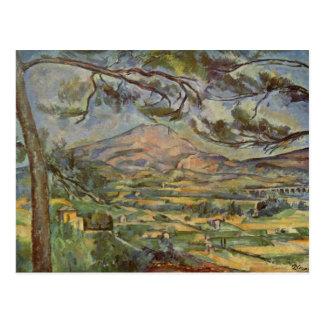 Mont Sainte-Victoire by Paul Cézanne Postcard