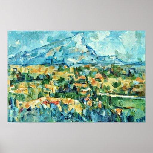 Mont Sainte-Victoire de Paul Cézanne (la mejor cal Impresiones