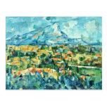 Mont Sainte-Victoire de Paul Cézanne (la mejor cal Tarjetas Postales