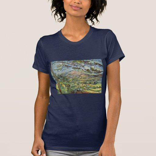 Mont Sainte-Victoire de Paul Cézanne (la mejor Camiseta