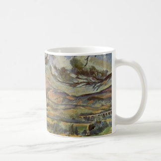 Mont Sainte-Victoire de Paul Cézanne Taza De Café