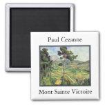 Mont Sainte Victoire - Paul Cezanne Imanes De Nevera