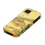Mont Sainte Victoire por Cezanne, bella arte del Vibe iPhone 4 Carcasa