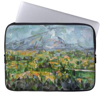 Mont Sainte-Victoire por Cezanne Funda Portátil