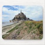 Mont-Santo-Miguel, Normandía, Francia Tapetes De Raton