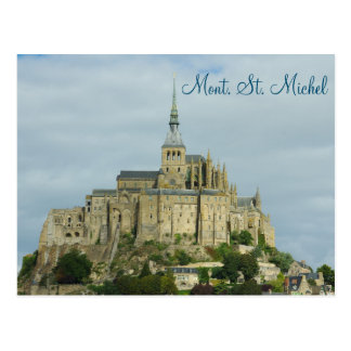 Mont Sint Michel Unesco Heritage site, France Postcard