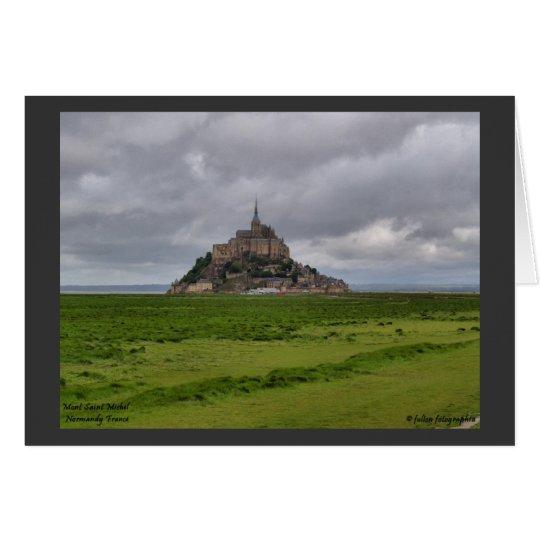Mont St Michel Card