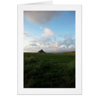MONT ST MICHEL Card Greeting Card