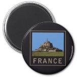 Mont St. Michel Fridge Magnets