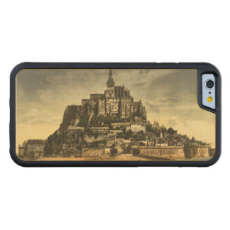 Mont St Michel I, Normandy, France Carved Maple iPhone 6 Bumper Case