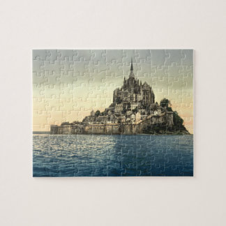 Mont St Michel II, Normandy, France Jigsaw Puzzles