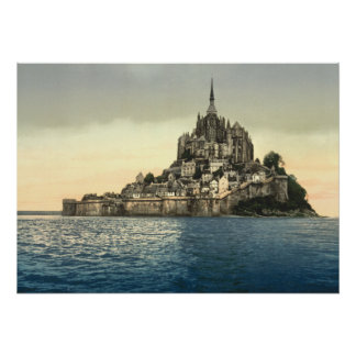Mont St Michel II, Normandy, France Poster
