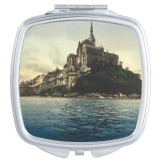 Mont St Michel III, Normandy, France Vanity Mirror
