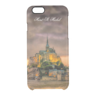 Mont St. Michel iPhone 6/6S Clear Case