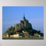 Mont St Michel, Manche, Normandy, France Print