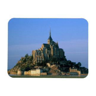 Mont St Michel, Manche, Normandy, France Rectangular Photo Magnet