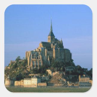 Mont St Michel, Manche, Normandy, France Square Sticker