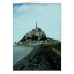 Mont St. Michel, Normandy, France Card