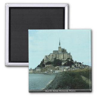 Mont St. Michel, Normandy, France Refrigerator Magnet