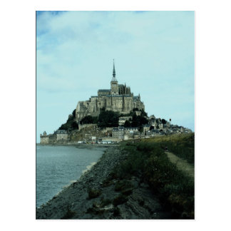 Mont St. Michel, Normandy, France Postcard