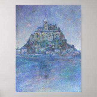 Mont St Michel Poster