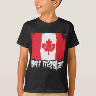 Mont-Tremblant Grunge Flag T-Shirt