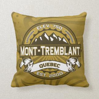 Mont-Tremblant Logo Throw Pillow