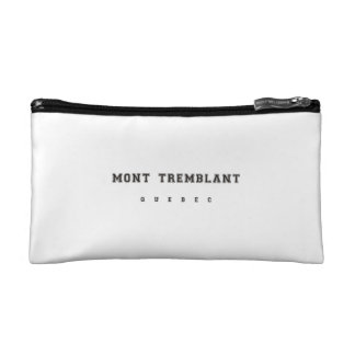 Mont Tremblant Quebec Cosmetic Bags