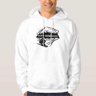 Mont Tremblant Quebec Canada guys ski hoodie