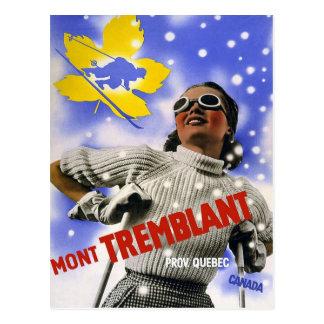 Mont Tremblant Quebec Canada Postcard