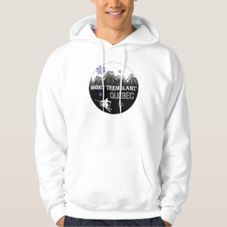 Mont Tremblant Quebec canadian winter hoodie