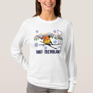 Mont Tremblant Quebec ladies hoodie