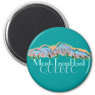 Mont Tremblant Quebec mountain magnet