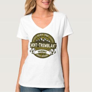 Mont-Tremblant Quebec Olive T-Shirt