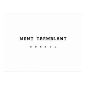 Mont Tremblant Quebec Postcard