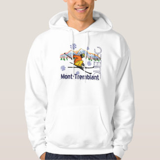Mont Tremblant Quebec ski hoodie