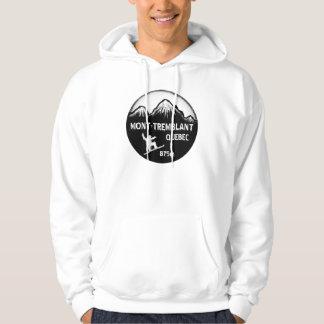 Mont Tremblant Quebec snowboard art hoodie
