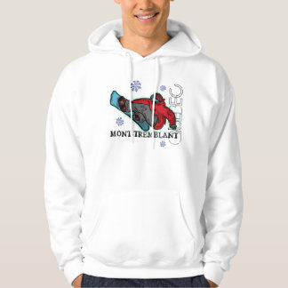 Mont Tremblant Snowboarder shred hoodie