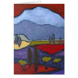 Mont Ventoux I Art Card